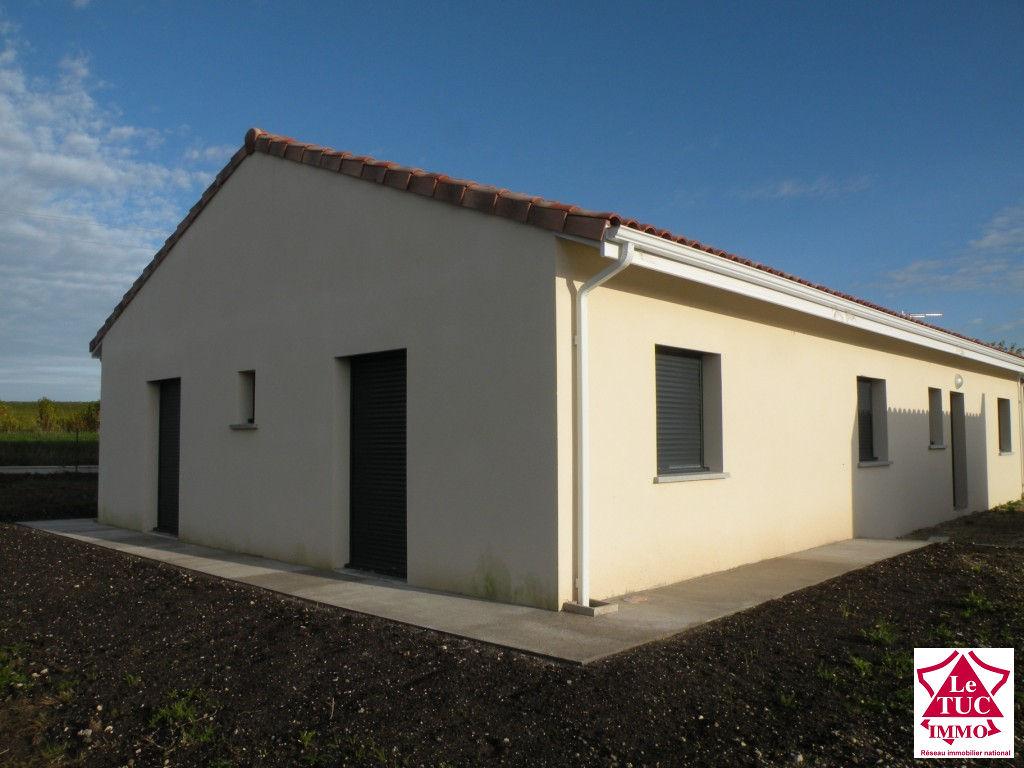 ST CAPRAIS DE BLAYE Maison neuve 140 m² sur 870 m²