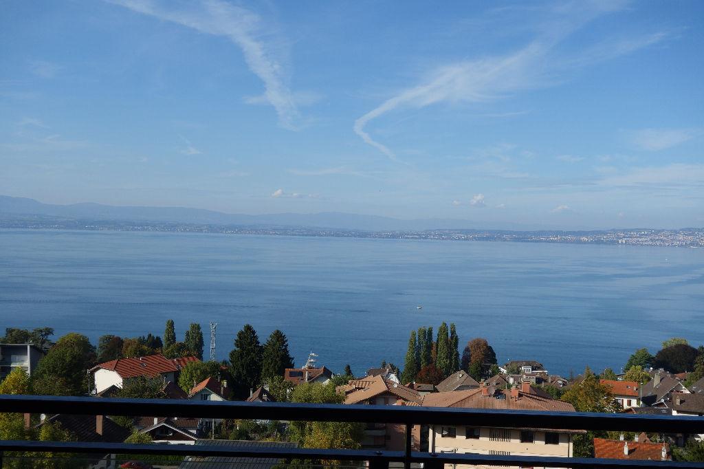 Evian, type 5 de 135m² vue lac panoramique