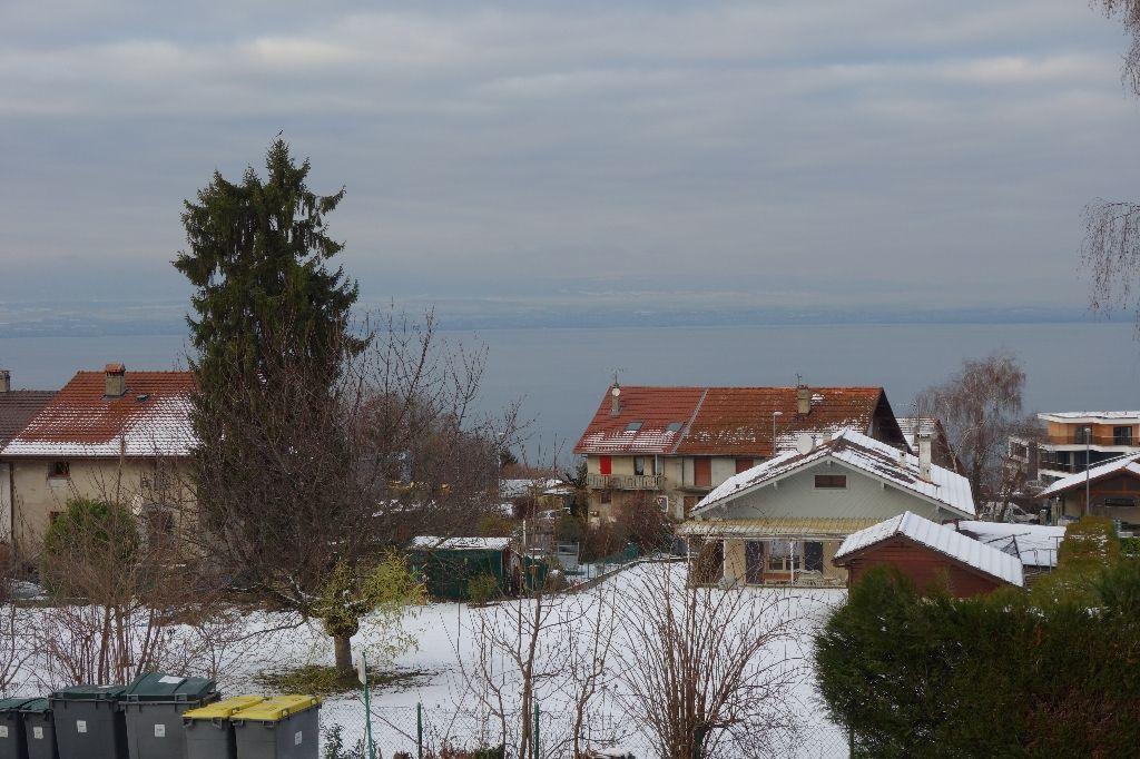 Appartement T3 Evian vue lac