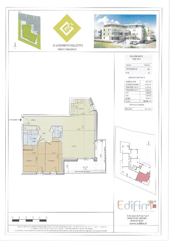 Photo Veigy, au calme et proche du centre , petite résidence de qualité dans un écrin de verdure. image 4/4