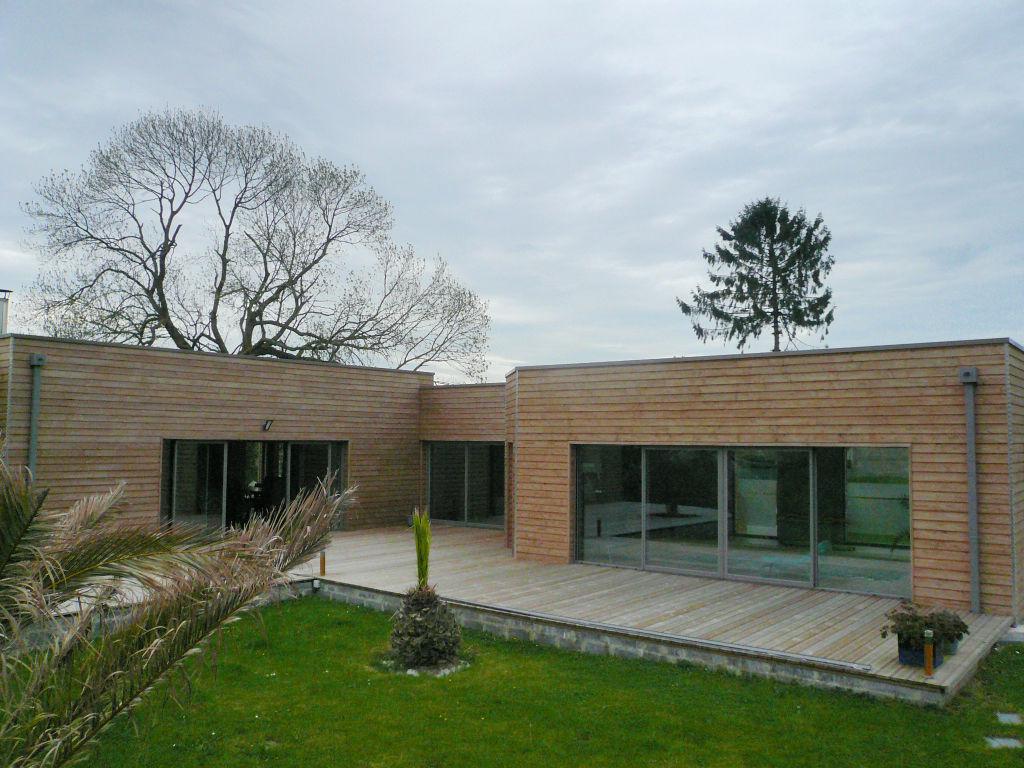 CAMBRAI CAUDRY Villa ossature bois climatique